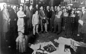 03 - SALÃO de OUTONO de 1925  na Prefeitura de Porto Alegre- Fala André da Rocha
